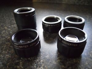 5 Converters To Fit A Pentax Screw Mount Camera Kingston Kingston Area image 2
