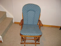 Glider chair  like new
