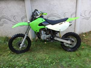 Kawasaki  65cc 2 temps a vendre