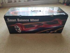 """Hover Board/Self Balance Hover Board (RED-6.5"""" wheels) Like New"""