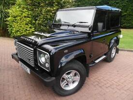 2016 Land Rover 90 Defender XS 2.2TD SWB WITH 4 SEAT CAB AND AIR/CON, VAT Q