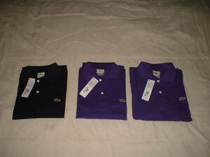 Polos Lacoste large neufs