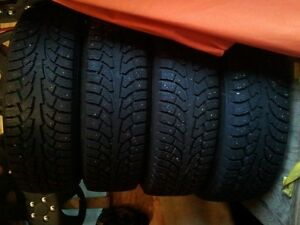 225 65 R17 Studded Winter Tires and Rims