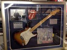 Signed and Framed Rolling Stones Guitar Sutherland Sutherland Area Preview