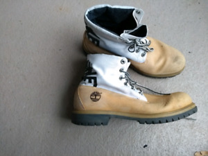 Roll down timberland boots 12M bottes 12 homme
