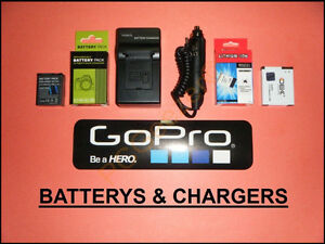 GoPro Batterys & Chargers.... Hero 4 / 3+ / 3