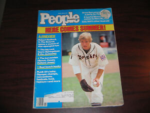 People Magazine May 28,1984 Robert Redford The Natural RARE!