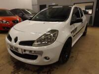 RENAULT CLIO RENAULTSPORT 197 CUP VVT White Manual Petrol, 2008