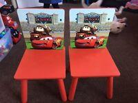 Disney cars chairs