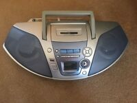 Panasonic RX-ES27 Radio/Cassette/CD with remote control REDUCED to £20