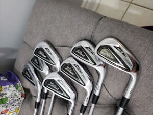 RH Titleist 716 AP2, 4-PW with shaft options