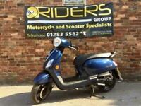 Sym Fiddle IIl 125cc 2020- 2 Months old Nearly New - Only 5km from new