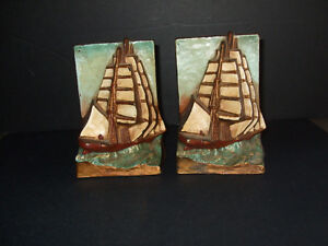 Vintage Cast Iron -- Nautical Ship Book Ends Kitchener / Waterloo Kitchener Area image 1
