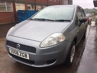 Bargain fiat punto, full years MOT low miles, cheap tax