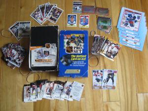 Cartes de hockey 1990 à 1992 ProSet et Arena en français