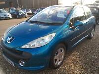 2006 Peugeot 207 1.4 16V Sport 3Door 62K Blue 3Dr Low Insurance Ideal 1st Car