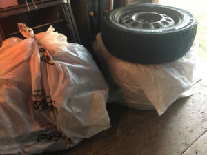 Winter Tires 195/55r15 (with rims)
