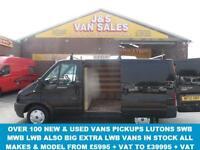 2012 12 FORD TRANSIT 280 SWB 2.2 260 TREND LR 2012/12 REG IN PANTHER BLACK 1 FOR