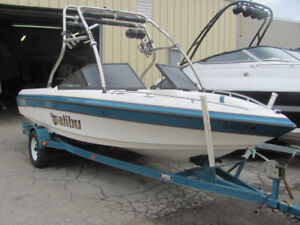 1997 MALIBU SUNSETTER 21LX WITH UPGRADED WAKE TOWER!!