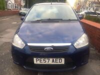 QUICK SALE FORD C MAX 1.6 STYLE 2008 MPV FULLYLOEDED HPI CLEAR TAX AND MOT GREAT CAR👍