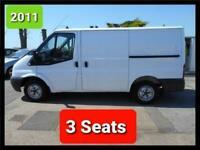 2011 FORD TRANSIT 85 T280S NEW MOT PLUS VAT 3 SEATS