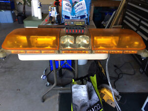 "48"" Amber Tow Truck Light Bar With Switch boxes and controllers"