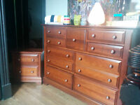 Large dresser and matching night stand
