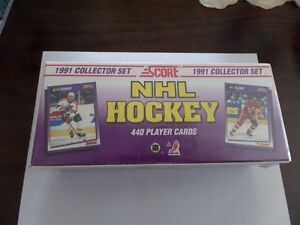 1991 Score NHL Hockey card collector set, new, factory sealed