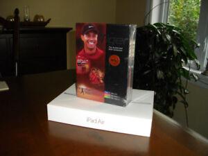Boxed set of Tiger Woods DVDs