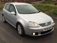 V.W GOLF 2.0TDI GT 4MOTION DIESEL,HPI CLEAR,4 WHEEL DRIVE,1 OWNER,2 KEYS,CLIMATE