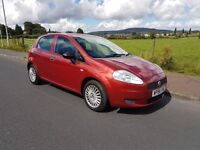 Fiat Punto 1.2 ACTIVE (red) 2007