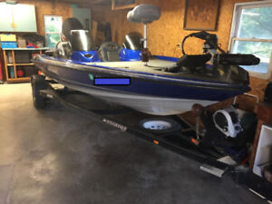 Great Bass Boat, Ready to Go