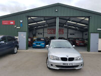 2007 BMW 116 1.6 PETROL MANUAL i ES PX WELCOME