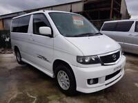 MAZDA BONGO, 2.5 V6, 2001, 73,600 MILES AUTOMATIC IN WHITE