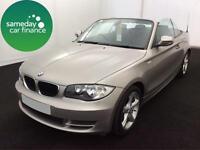 £223.53 PER MONTH 2010 BMW 118i 2.0 SPORT CONVERTIBLE 2 DOOR PETROL MANUAL