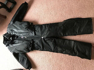 Like new Half leather Angora Snowmobile suit