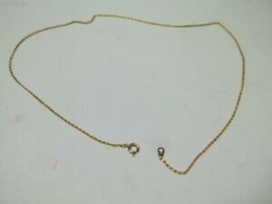 Gold Plated Necklace.