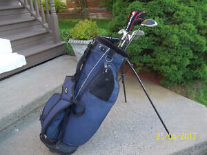 Men's Right Hand 10-pc Golf Clubs Set (Tommy Armour/TaylorMade)
