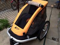 MEC bike trailer for one child