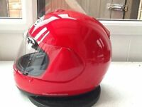 *Arai Quantum E ~ Red Full Face Helmet* Size Medium