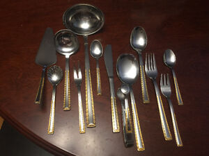 Gold plated flatware West Island Greater Montréal image 1