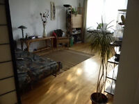 November,Fully furnished very large Sunny 3 1\2 CDN