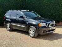 2008 Jeep Grand Cherokee 3.0 CRD Overland 4WD 5dr SUV Diesel Automatic