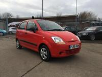 2009 CHEVROLET MATIZ 0.8 S BRIGHT RED 5 DOOR