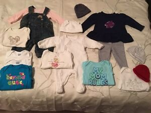 Girl's 0-3 Month Fall/Winter Essentials