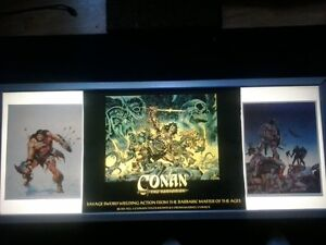 Conan Marvel sign and light box