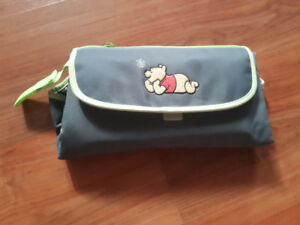 portable changing pad for diaper bag