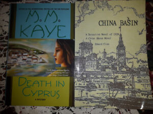 FICTION, MYSTERY NOVELS, PAPERBACK AND HARDCOVER