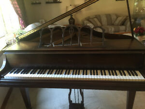 Antique Werlitzer Baby Grand Piano Kitchener / Waterloo Kitchener Area image 4