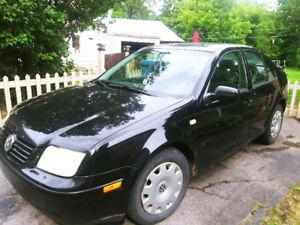 Volkswagen jetta 2001 à vendre